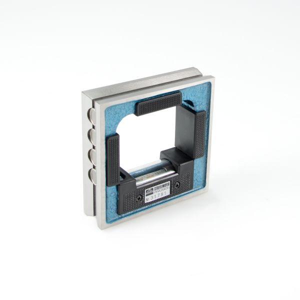 Rahmen-Wasserwaage mit 8 Magneten 0,10 mm/m