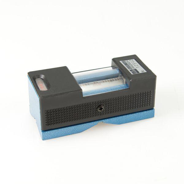 Kurbelzapfen-Wasserwaage tropensicher 0,10 mm/m