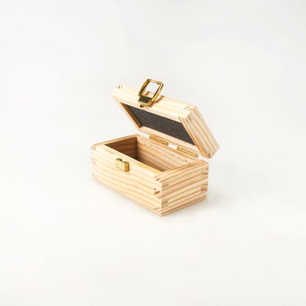 Holzkasten Kurbelzapfen-Wasserwaage